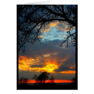 Lake Winnebago Sunset Card