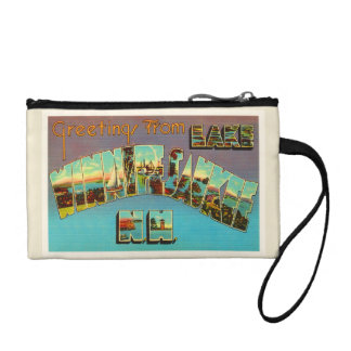 Lake Winnipesaukee New Hampshire Travel Souvenir Coin Purses