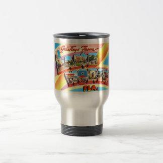 Lake Worth Florida FL Old Vintage Travel Souvenir Travel Mug