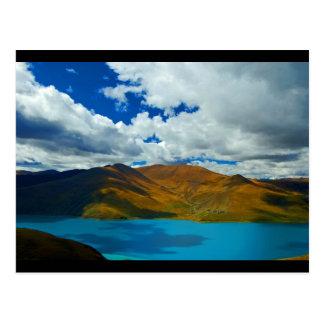 Lake Yamdrok- Tso in Tibet Postcard