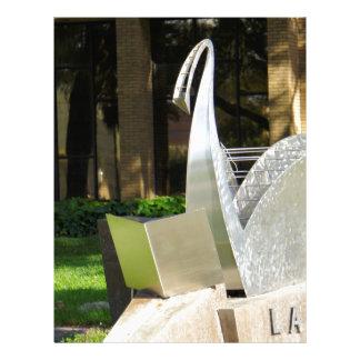 Lakeland Library Letterhead Design