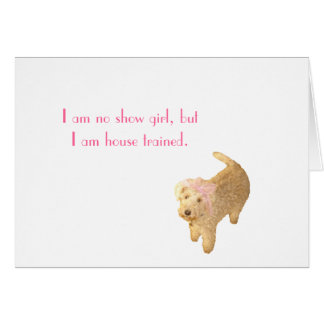 Lakeland Terrier Card