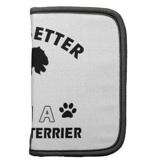 Lakeland Terrier Dog breed designs Folio Planner