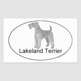 Lakeland Terrier Euro-Type Sticker