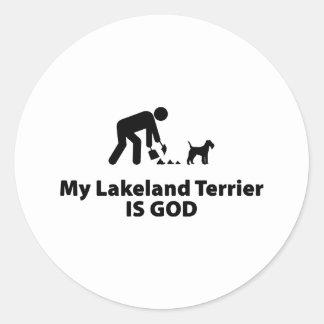 Lakeland Terrier Round Sticker