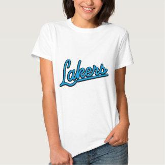 Lakers in cyan tshirt