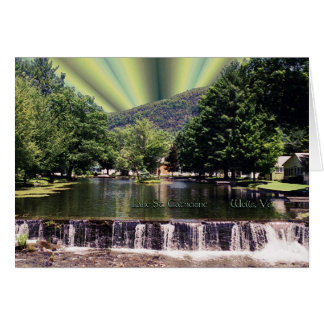 Lake's End Card
