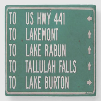 Lakes Sign, Georgia Coaster