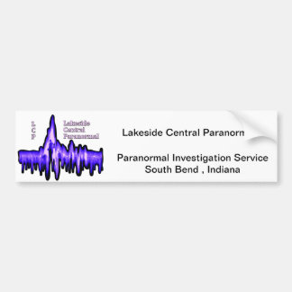 Lakeside Central Paranormal Bumper Sticker