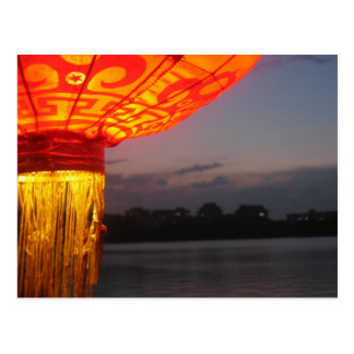 Lakeside Lantern Postcard
