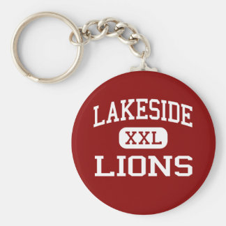 Lakeside - Lions - Middle - Seattle Washington Keychain
