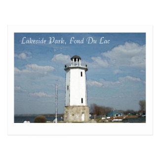 Lakeside Park, Fond Du Lac Postcard