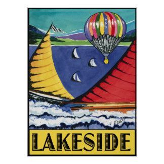 Lakeside-poster Poster