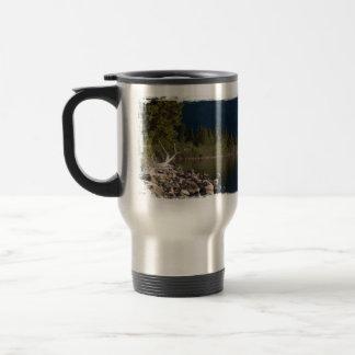 Lakeside Splendor; No Text Travel Mug