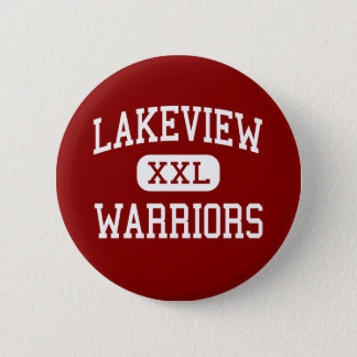 Lakeview - Warriors - Middle - Rossville Georgia 2 Inch Round Button