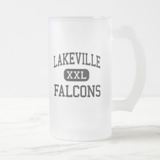 Lakeville - Falcons - High - Otisville Michigan Frosted Glass Beer Mug
