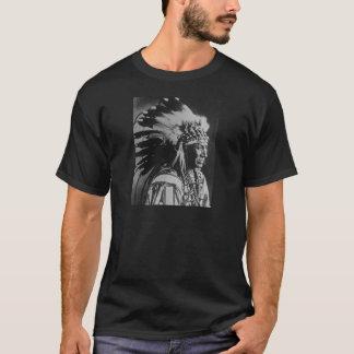 Lakota Sioux Vintage Chief White Swan T-Shirt