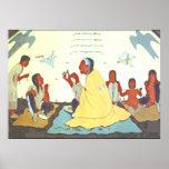 Lakota Storyteller Poster