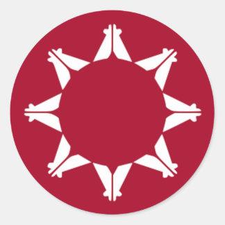 Lakota Tribe Round Sticker