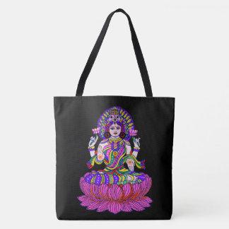 Lakshmi Diwali Festival Goddess of Good Fortune Tote Bag