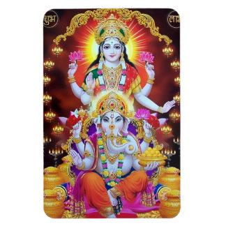 Lakshmi & Ganesha Magnet
