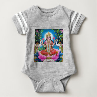 Lakshmi Goddess of Love, Prosperity, and Wealth Baby Bodysuit