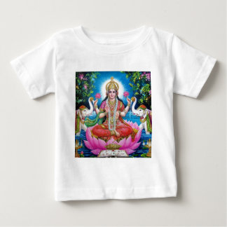 Lakshmi Goddess of Love, Prosperity, and Wealth Baby T-Shirt