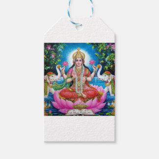 Lakshmi Goddess of Love, Prosperity, and Wealth Gift Tags