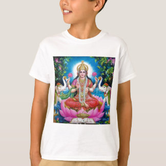 Lakshmi Goddess of Love, Prosperity, and Wealth T-Shirt