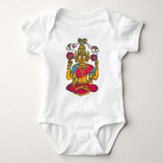 Lakshmi / Shridebi in Meditation Pose Baby Bodysuit