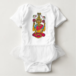Lakshmi / Shridebi in Meditation Pose Baby Bodysuit