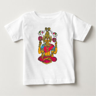 Lakshmi / Shridebi in Meditation Pose Baby T-Shirt
