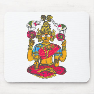 Lakshmi / Shridebi in Meditation Pose Mouse Pad