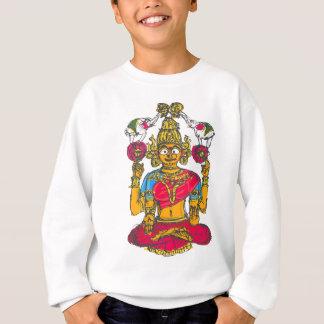 Lakshmi / Shridebi in Meditation Pose Sweatshirt