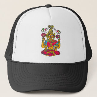 Lakshmi / Shridebi in Meditation Pose Trucker Hat