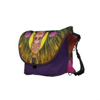 Lakshmi stock market messenger bag