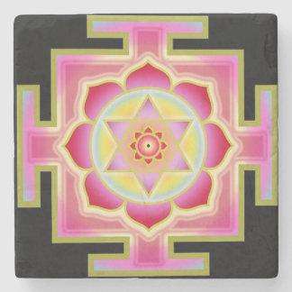 Lakshmi yantra stone coaster