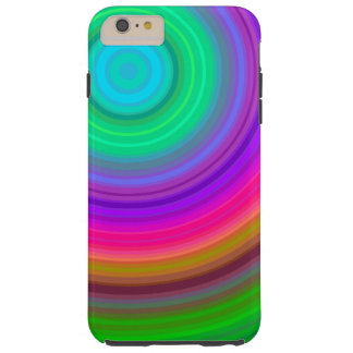 Lala 8788; Neon Rainbow Tunnle iPhone 6 Plus. Tough iPhone 6 Plus Case
