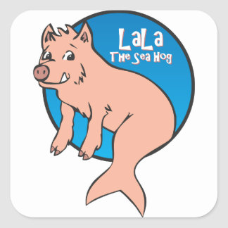 LaLa: The Sea Hog: Sticker