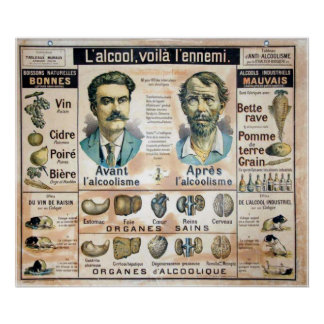L'Alcool Voila l'Ennemi #1 Poster