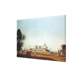 Lall Bazaar and the Portuguese Chapel Canvas Print