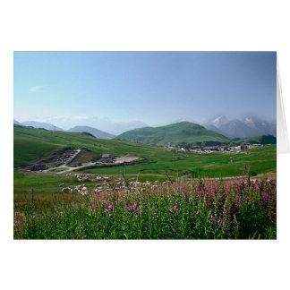L'Alpe d'Huez, France Card