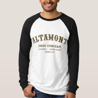 l'altamont libèrent le concert tshirts