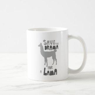 Lama Drama Coffee Mug