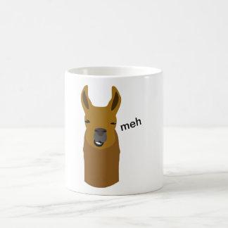 Lama Funny Face Coffee Mug