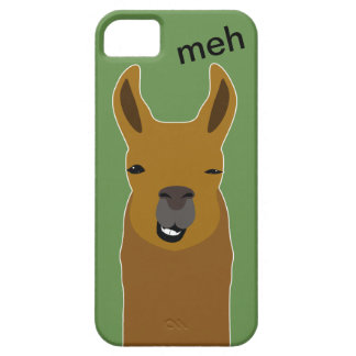 Lama Funny Face iPhone 5 Covers