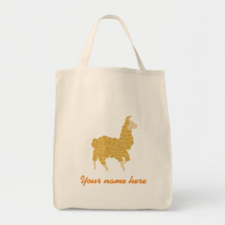 Lama tote bag (customisable)