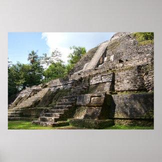 Lamanai, Belize postcard Poster