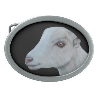 LaMancha  Dairy Goat Belt Buckle