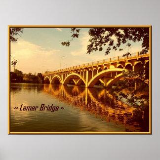 Lamar Bridge Poster
